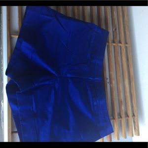 Express blue shorts size 12